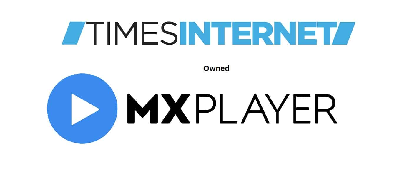 Times Internet Owned MX Player