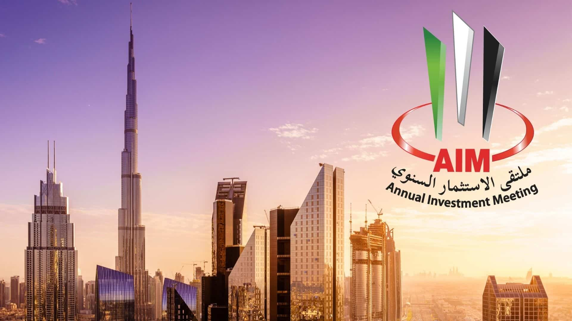 Annual Investment Meeting in Dubai Increases the Scope of 2020 Conference Beyond FDI