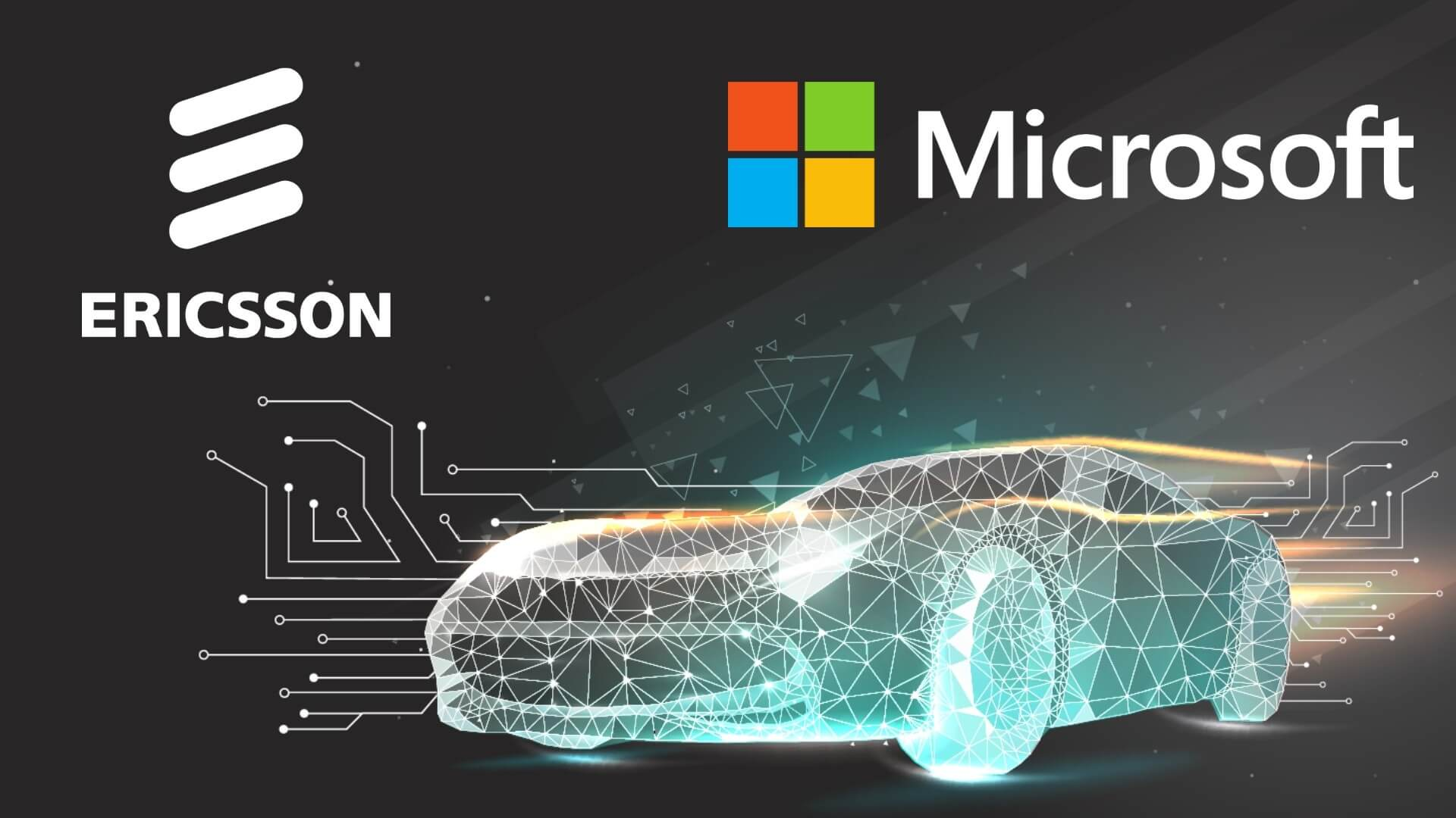 Ericsson, Microsoft Team Up for Integrated Solution for Connected Vehicle Services