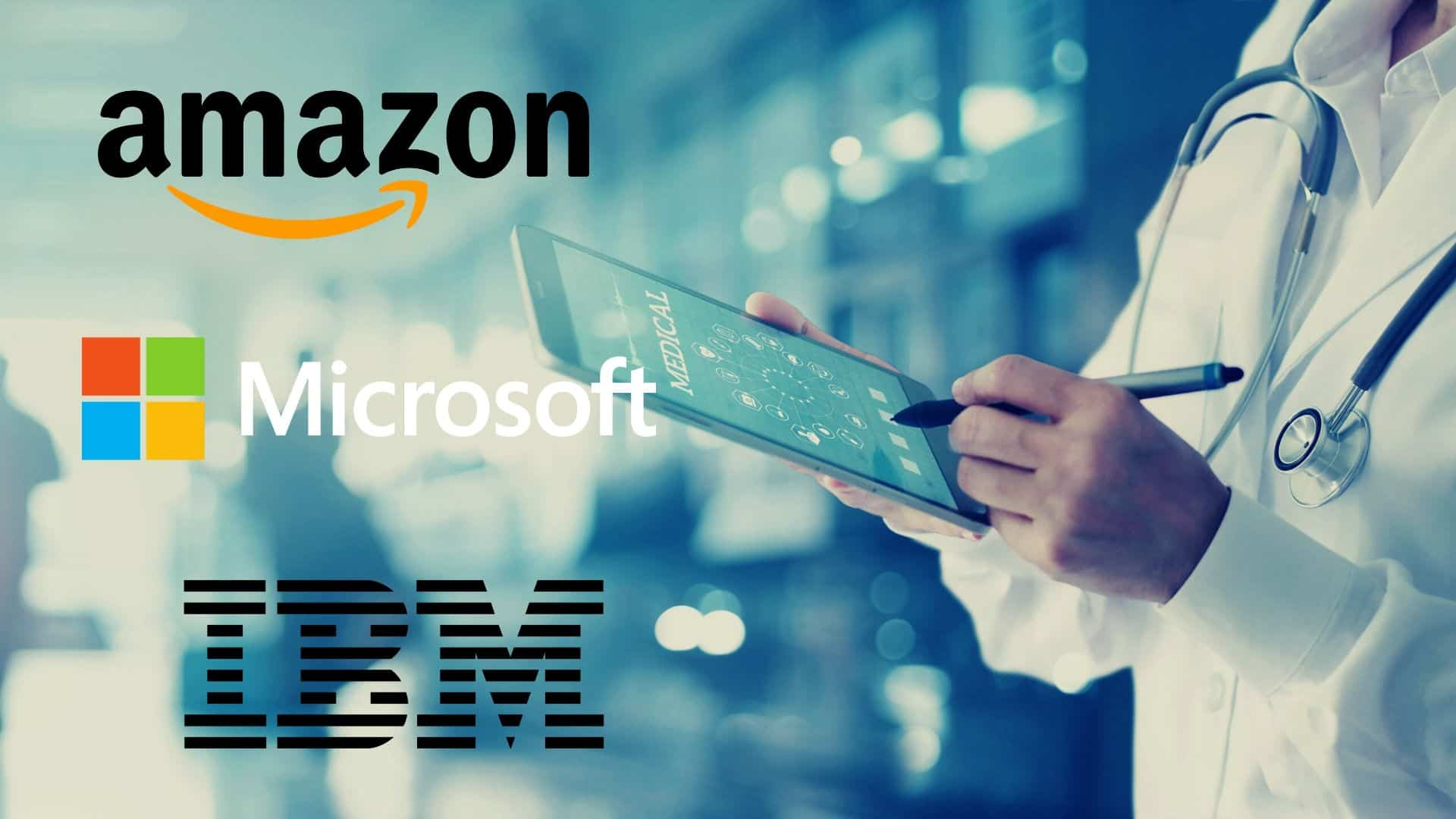 Microsoft, AWS & IBM Use Medical Data to Develop Healthcare Solutions