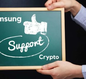 Samsung Continues Support for Crypto