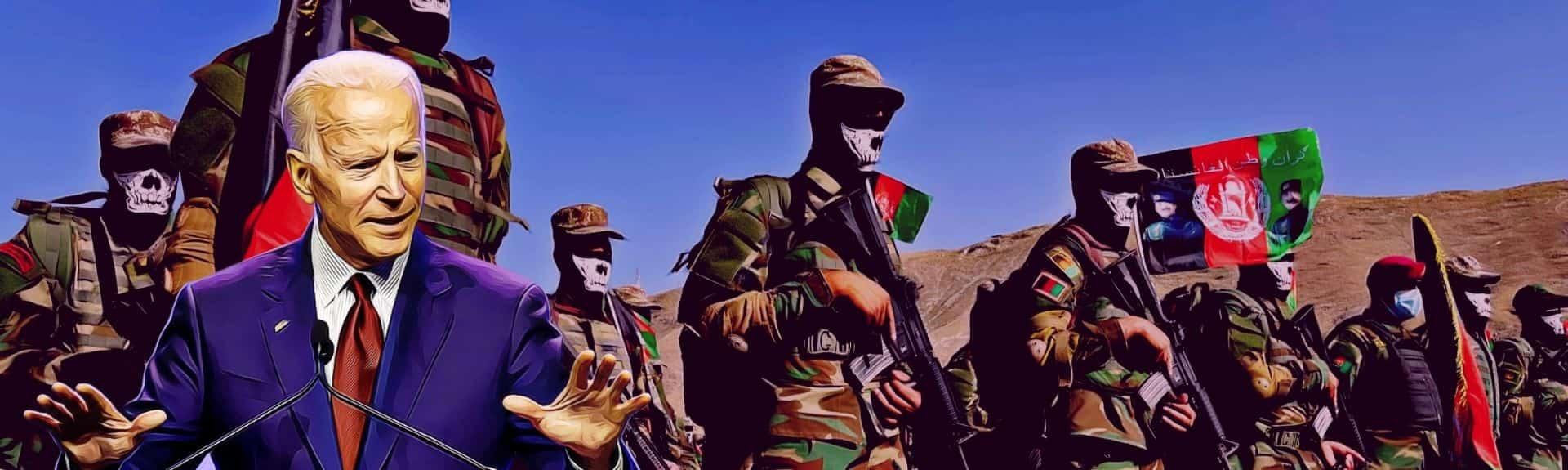 Biden Makes First Public Statement After Taliban Takes Kabul